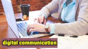 which software are used in digital communication..