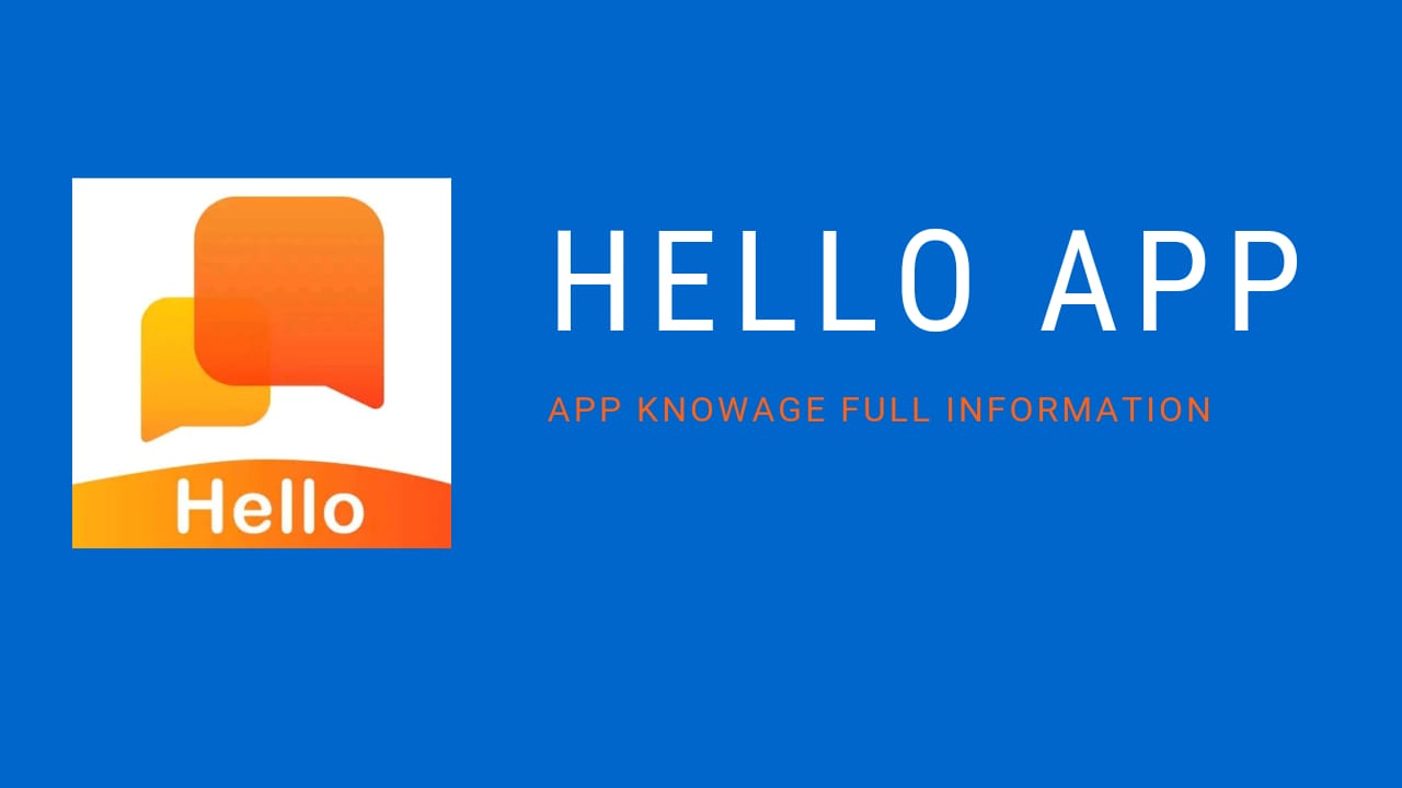 Helo app - How To use Helo app simple tutroil